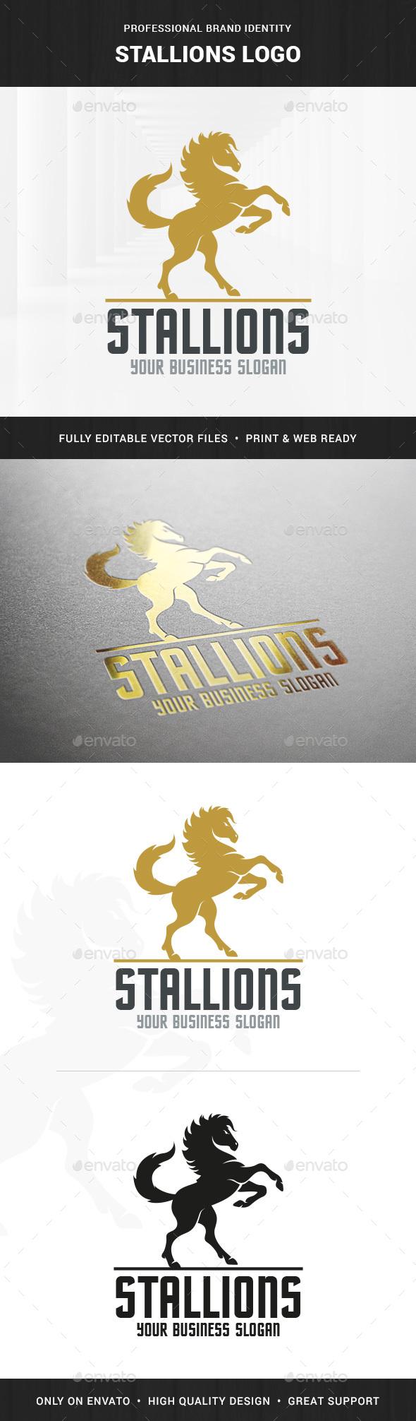 Stallions Logo Template
