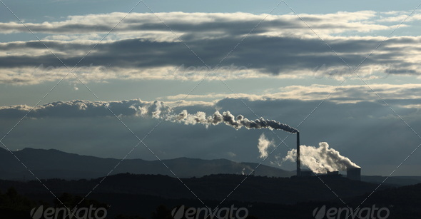 Power plant - Stock Photo - Images