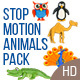 Stop Motion Animals Pack - VideoHive Item for Sale