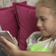 Young Girl Using Tablet At Home 05 - VideoHive Item for Sale