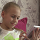 Young Girl Using Tablet At Home 07 - VideoHive Item for Sale
