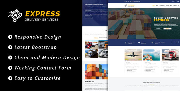 Express - HTML5 Template - Business Corporate