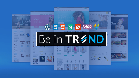 Trend – Multipurpose / Fashion / Restaurant / Construction / Modern Shop WooCommerce WordPress Theme