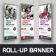 Roll-Up Banner Signage Design v2 - GraphicRiver Item for Sale