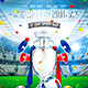 Football Euro Cup Poster vol.2 - GraphicRiver Item for Sale