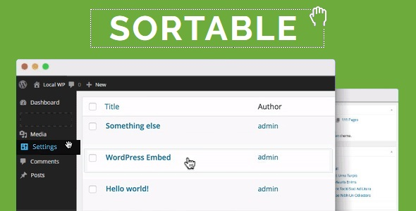WP Sortable - CodeCanyon Item for Sale