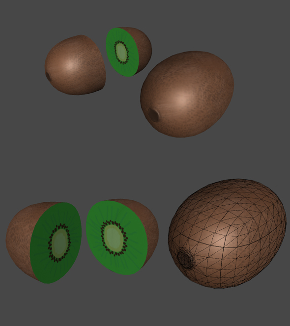 Kiwi for Games - 3DOcean Item for Sale