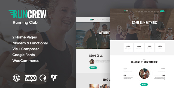RunCrew – Running Club & Marathon WordPress Theme