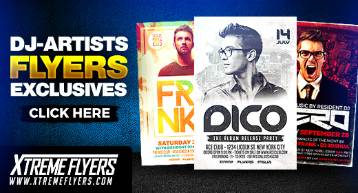 Artist  DJ Flyers Collection