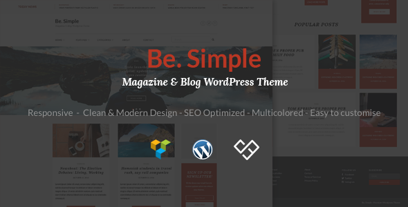 Be.Simple | News, Magazine & Blog WordPress Theme