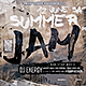 Summer Jam Flyer Horizontal - GraphicRiver Item for Sale