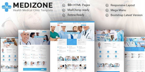 Medizone – Health & Medical Responsive HTML5 Template