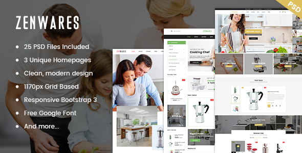 Zenwares – Responsive WooCommerce WordPress Theme