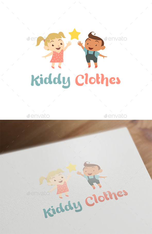 Kiddy Clothes - Baby & Kids Logo