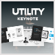 Utility Keynote Template - GraphicRiver Item for Sale
