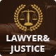 Lawyer & Justice - WordPress Theme for Lawyers Attorneys and Law Firm - ThemeForest Item for Sale