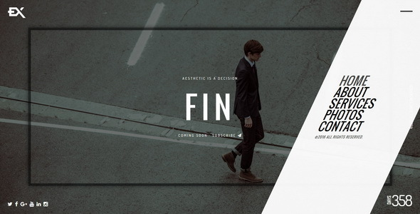 Fin || Responsive Under Construction Template - Under Construction Specialty Pages