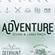 Adventure Icons + Vintage Logo Pack - GraphicRiver Item for Sale