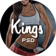 Kings - Gym, Fitness And Sport School PSD Template - ThemeForest Item for Sale