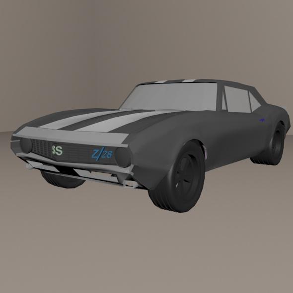 chevrolet camaro ss z28 1969 - 3DOcean Item for Sale