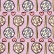 Seamless Pattern With Lollipops And Hearts