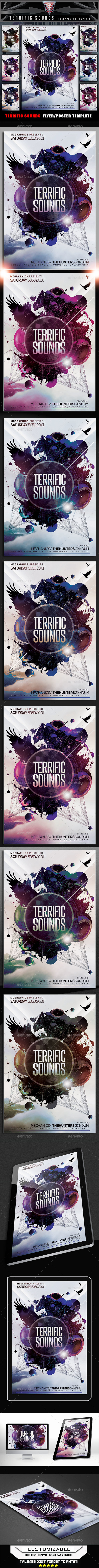 Terrific Sounds Flyer Template - Events Flyers