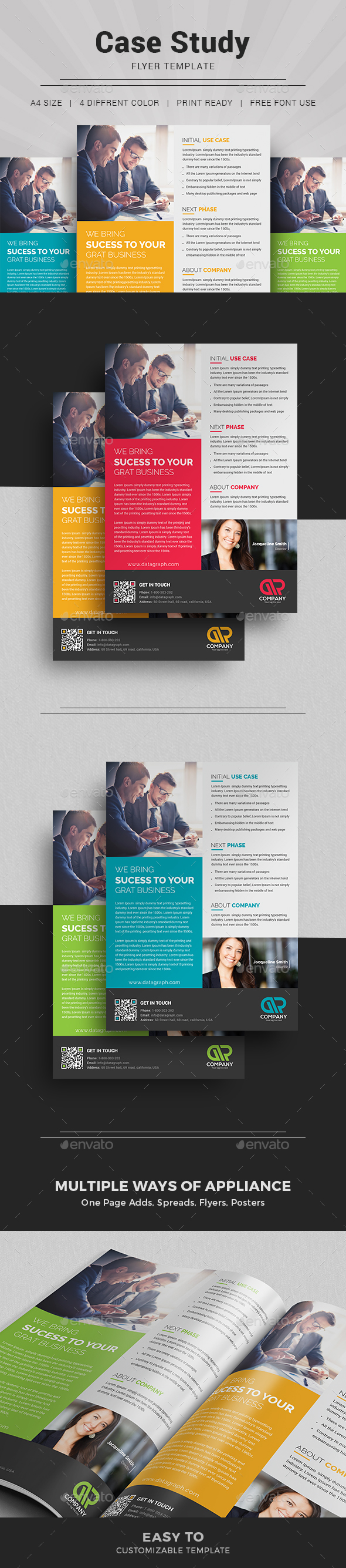 research study flyer template - case study template i flyer by themedevisers graphicriver