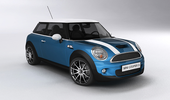 Mini Cooper s (2008)  - 3DOcean Item for Sale