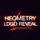 Glow Geometry Logo Reveal - VideoHive Item for Sale