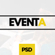 Eventa - Event Management PSD Template Nulled