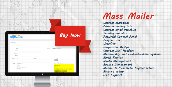 Brightery Basic Mass Mailer - CodeCanyon Item for Sale