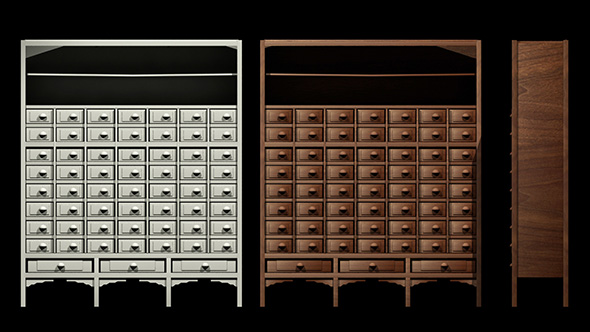 Chinese Medicine Cabinet by robertshing | 3DOcean
