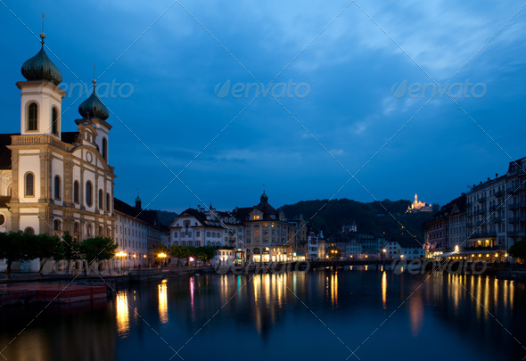 Lucerne, Switzerland - Stock Photo - Images