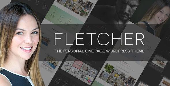 Fletcher - vCard CV Resume WordPress Theme