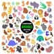 Set of Cartoon Animal Icons - GraphicRiver Item for Sale