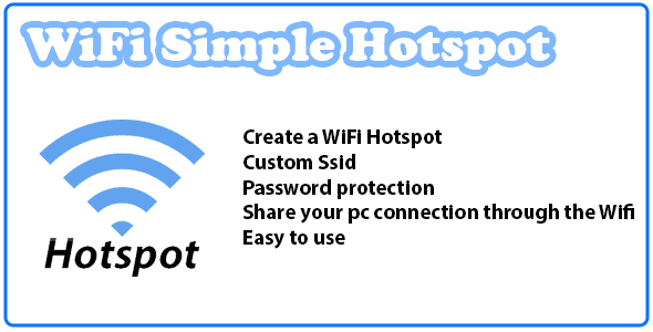 WiFi Simple Hotspot - CodeCanyon Item for Sale