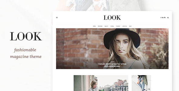 Look – Magazine Theme