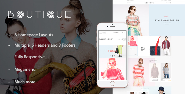 ST Boutique Shopify Theme