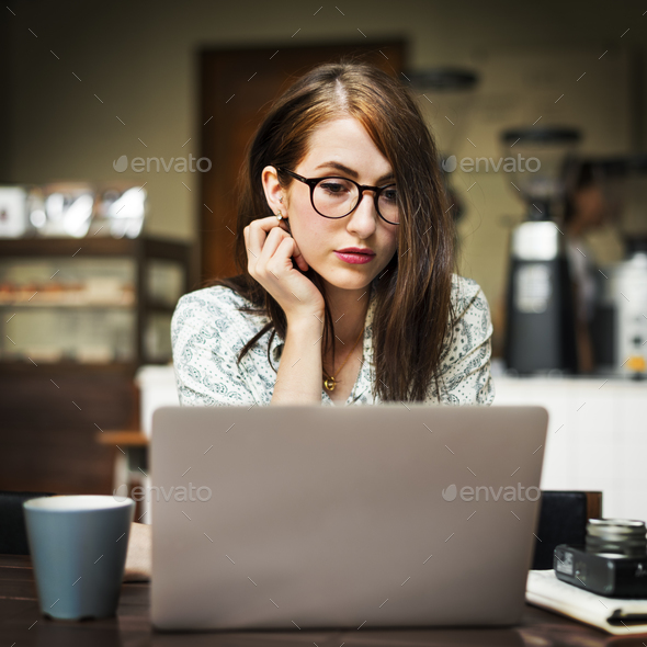 Bistro Break Time Casual Coffee Cafe Relaxation Concept - Stock Photo - Images