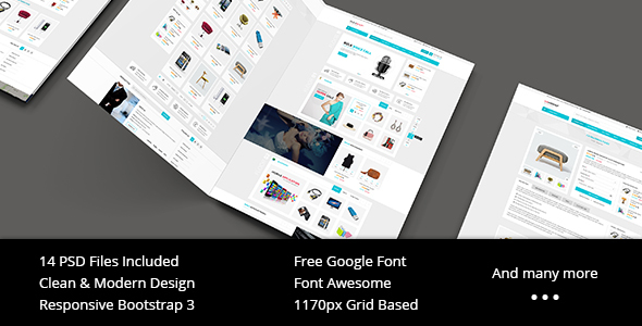 Starshop – Multi-Purpose eCommerce PSD Template