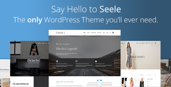Seele – Clean Multi-Purpose WordPress Theme