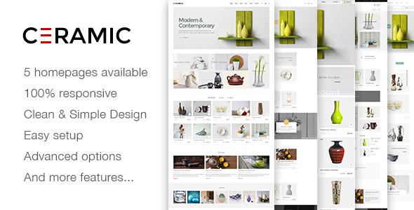 JMS Ceramics – Responsive Prestashop Theme