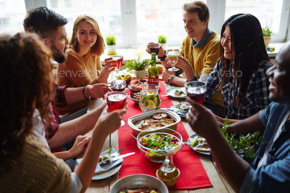 People celebrating - Stock Photo - Images