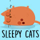 Cartoon Sleepy Cats - VideoHive Item for Sale