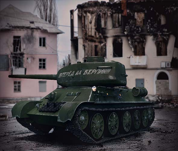 Soviet Tank T-34 - 3DOcean Item for Sale