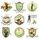 Golf Labels - GraphicRiver Item for Sale
