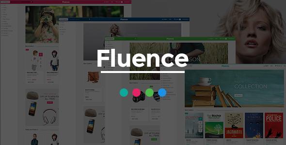 Fluence - Books Store Responsive Magento Theme - Shopping Magento