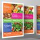 Super Market Products Flyers Bundle