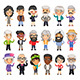Casually Dressed Aged People - GraphicRiver Item for Sale