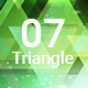 07 Shiny Triangle Backgrounds Hd - GraphicRiver Item for Sale